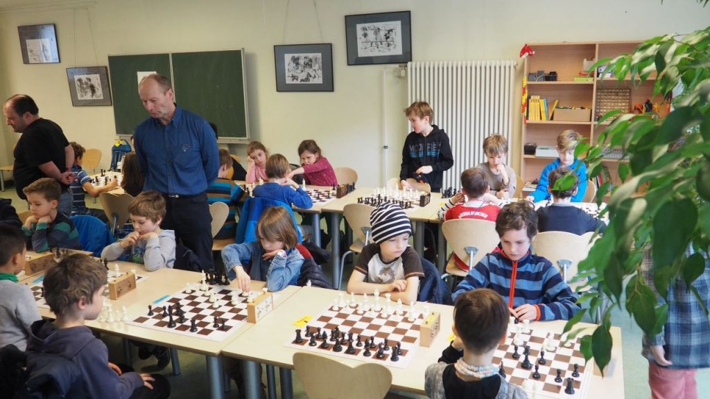 Turnierraum Klasse 1 und 2